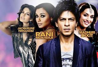 Temptation Reloaded 2013 featuring SRK, Madhuri Dixit-Nene, Rani, Jacqueline