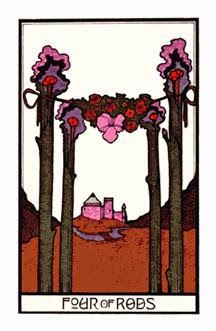 Tarot  Card for April