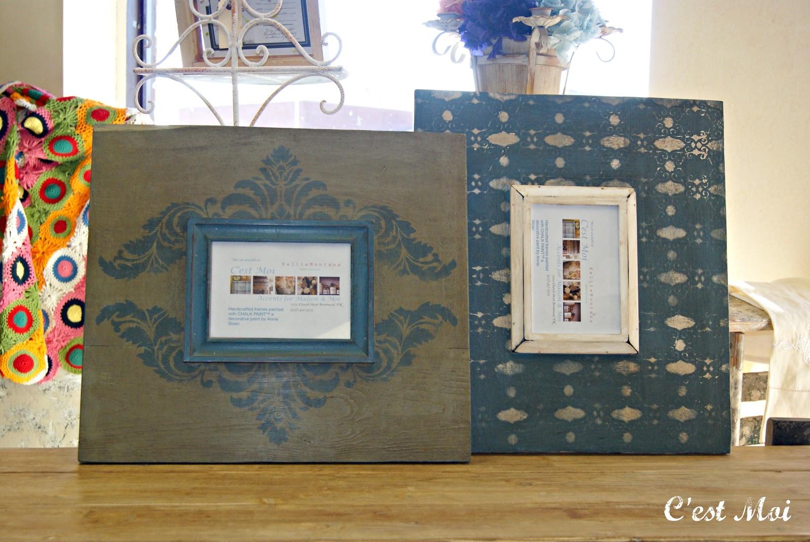 Shop C\'est Moi: Annie Sloan CHALK PAINT™ Painted Frames