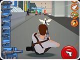 لعبة المطاردة القتالية Super Hammer 3d اون لاين