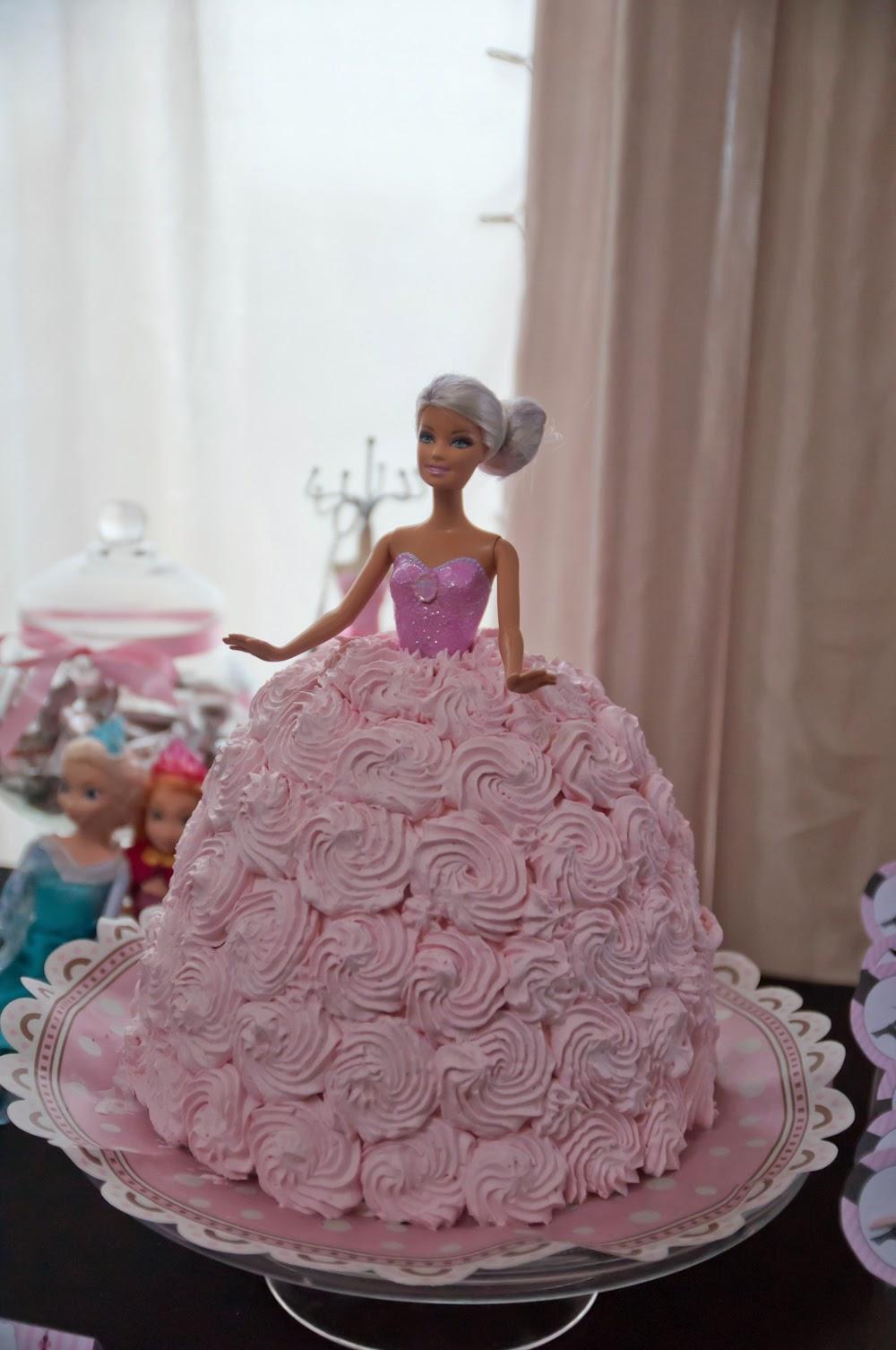 Barbie goes Paris -synttärit