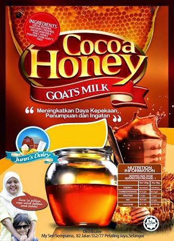 Susu Kambing Coklat Madu