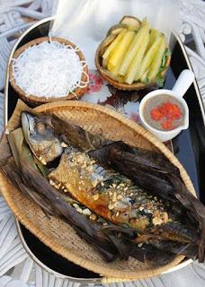 Grilled Fish in Banana Leaves Recipe (Cá Nướng Lá Chuối) 3