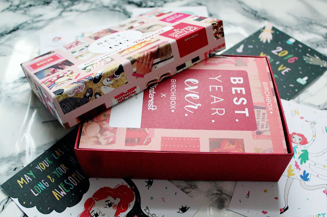 Birchbox x Pinterest January 2016 Review