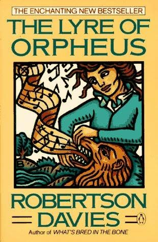 an examination of the character of simon darcourt in the lyre of orpheus by robertson davies Robertson davies (1913-1995) had three successive careers during the time he became an internationally acclaimed author: actor, publisher, and, finally, profes.