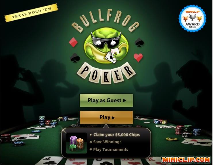 Jogar poker online click jogos