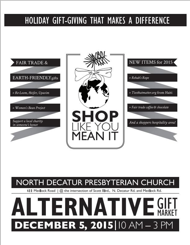 Medlock area neighborhood association mana 2015 alternative gift market at north decatur presbyterian church dec 3 fandeluxe Images