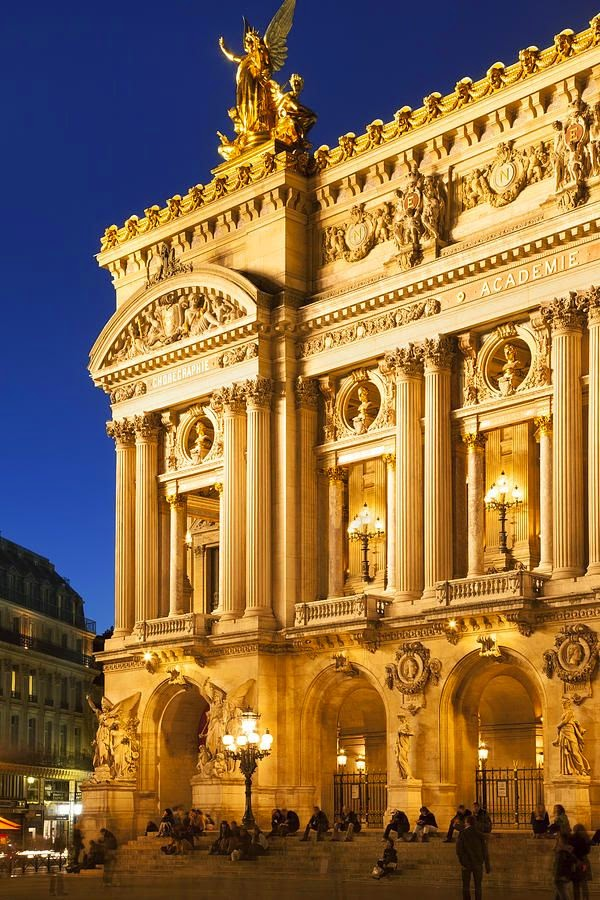 Palais Garnier, Paris Opera, France