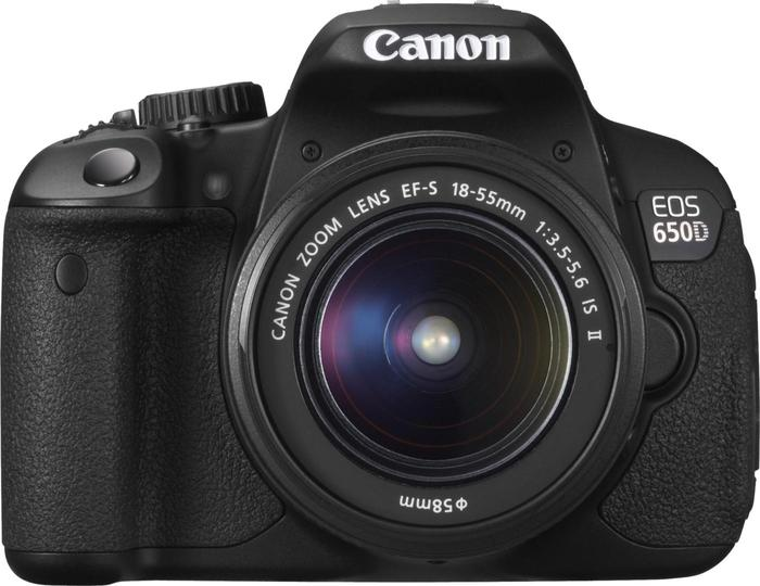 Canon EOS 650D DSLR Camera with 18-55mm Lens