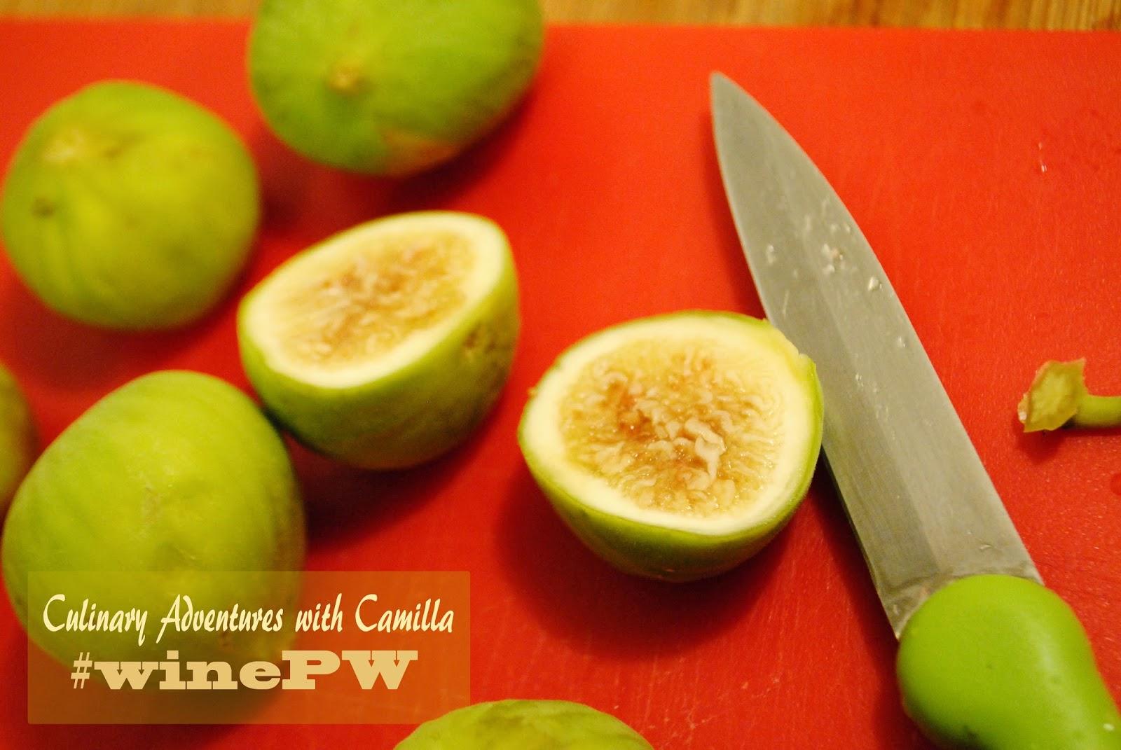#winepw : green fig ice cream + cambiata albariño {wine pairing weekend}