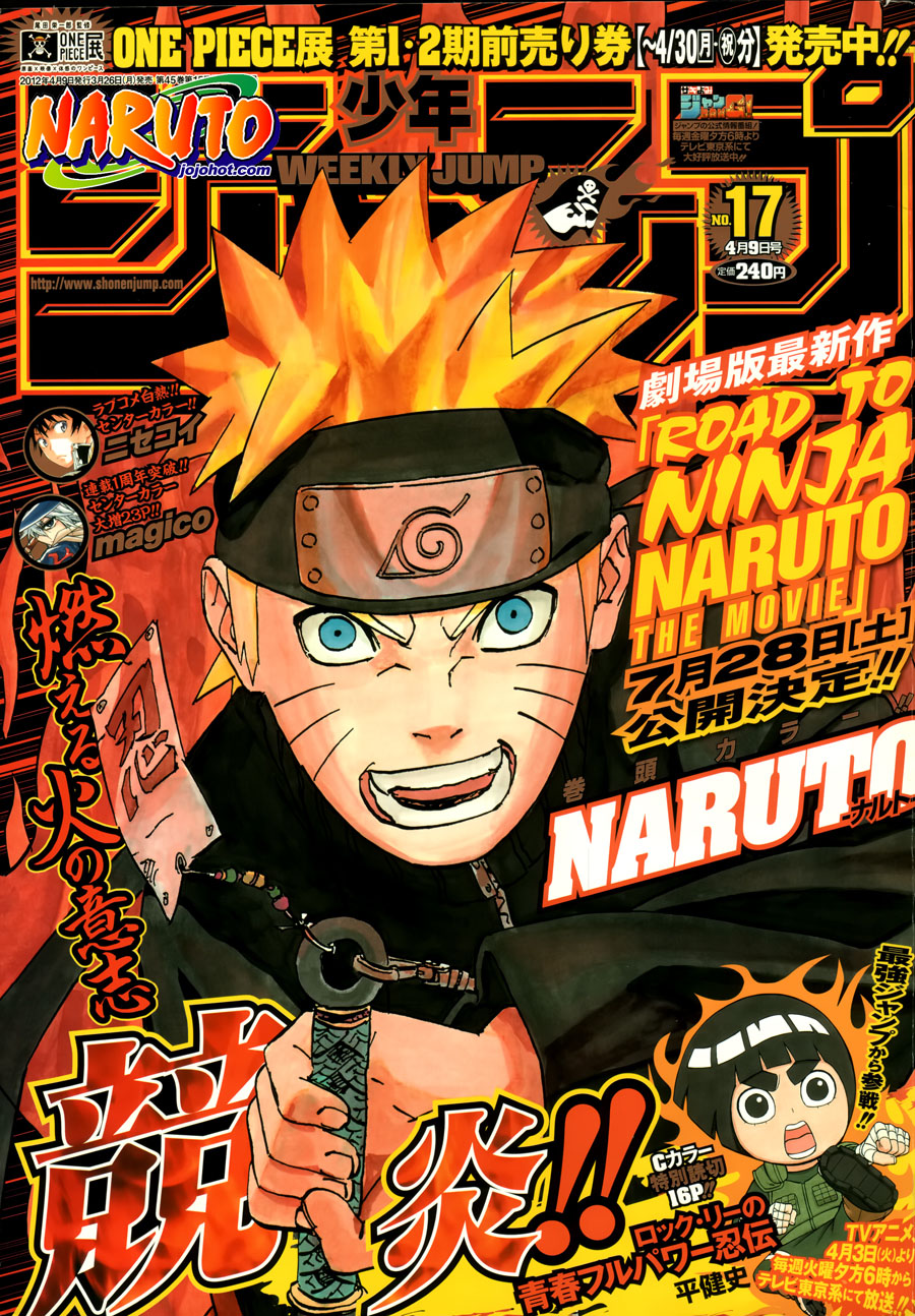 Naruto chap 579 Trang 1 - Mangak.info