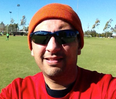 Sanjay Dalal Wearing Sun Glasses Beanie November 10 2012