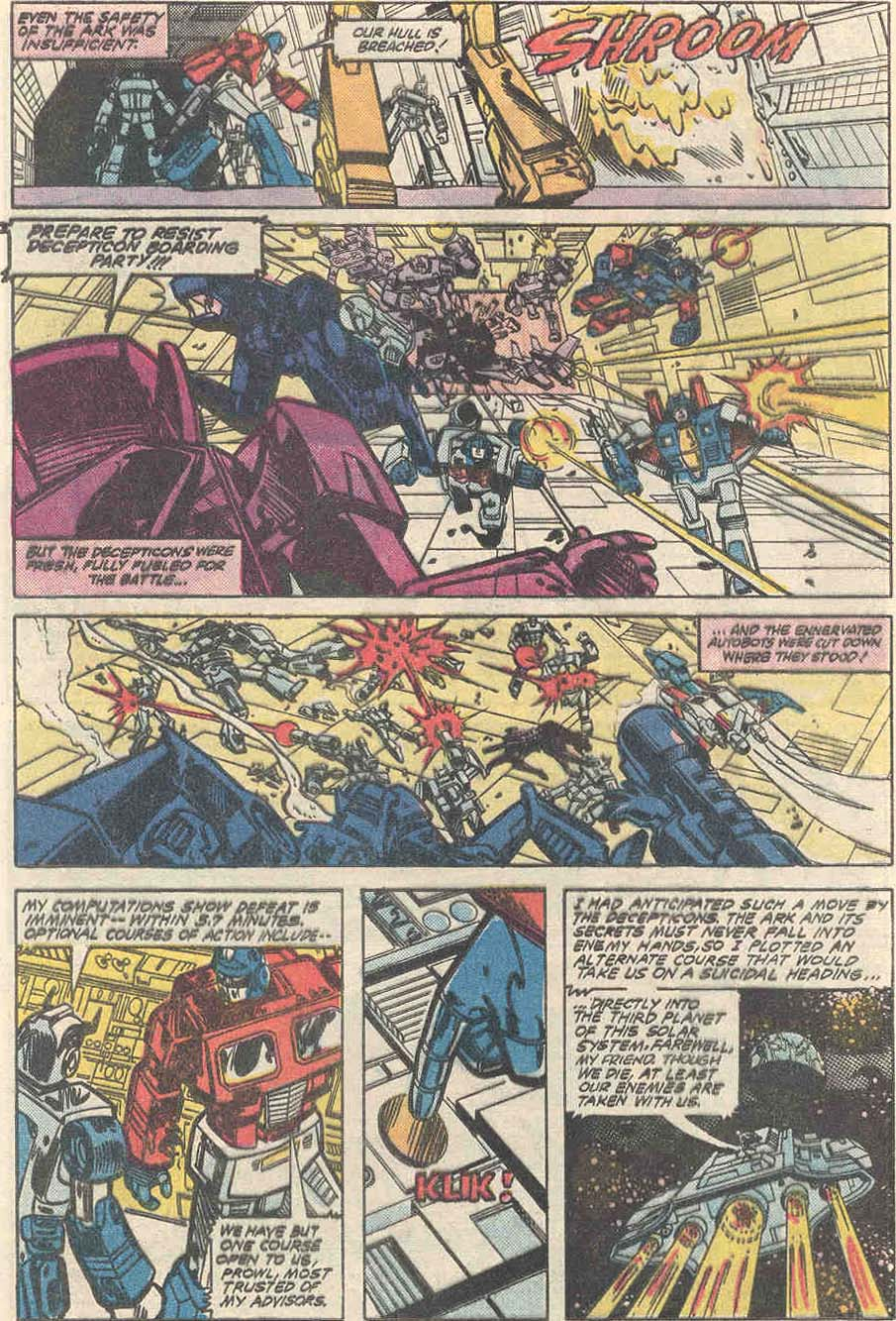 The Transformers (1984) #1 #80 - English 9
