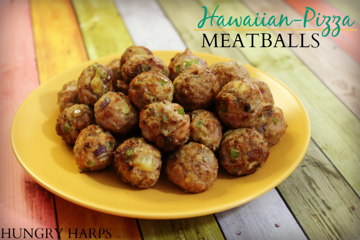 Hawaiian-Pizza Meatballs