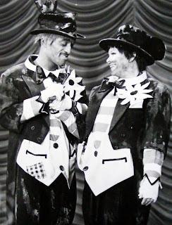 Simpáticos Sammy Davis jr. y Judy Garland