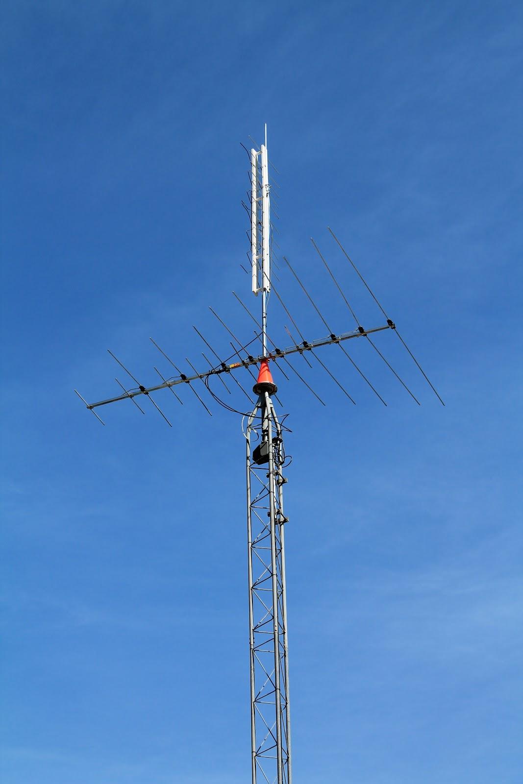 Tilt Up Antenna Tower