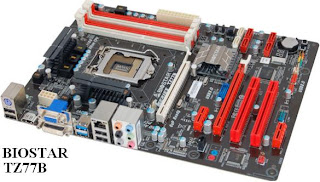 Biostar TZ77B - LGA 1155 - Intel Z77