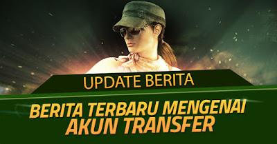 Akun Transfer PB Garena Indonesia dari Gemscool