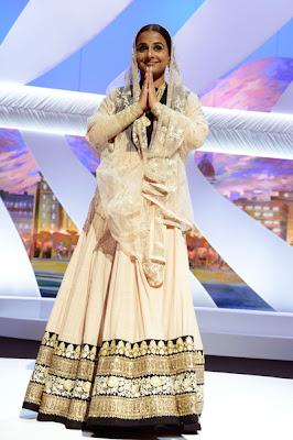 Vidya Balan At Cannes Film Festival