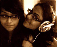 Kadal Heroine Thulasi with Sister