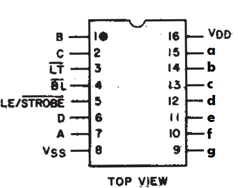 7 Segment Display Pin Diagram http://totherails.blogspot.com/2011/05/7-segment-display.html