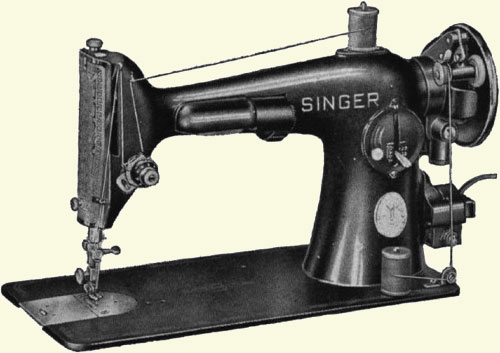 who invented a practical sewing machine