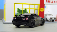 Greenlight Black Bandit 2015 Nissan GT-R R35