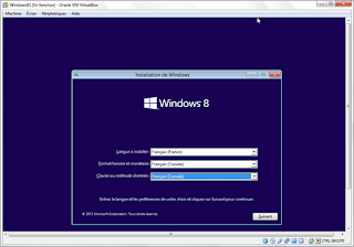 Installation Windows 8.1 Preview