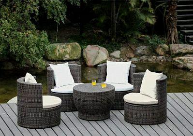 Muebles para jard n decoraci n de exteriores for Muebles para jardin