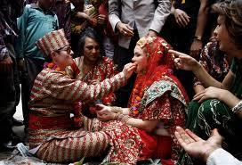 First Lesbian Wedding in Nepal