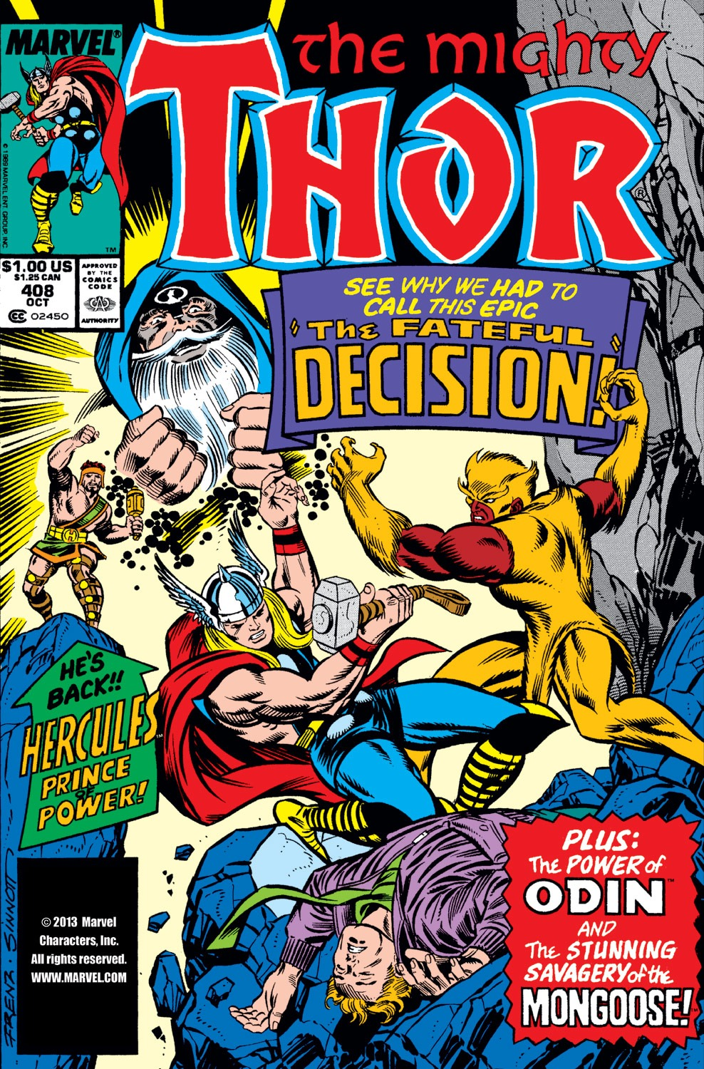 Thor (1966) 408 Page 1