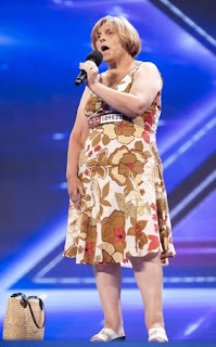 UK X Factor contestant Ceri Rees
