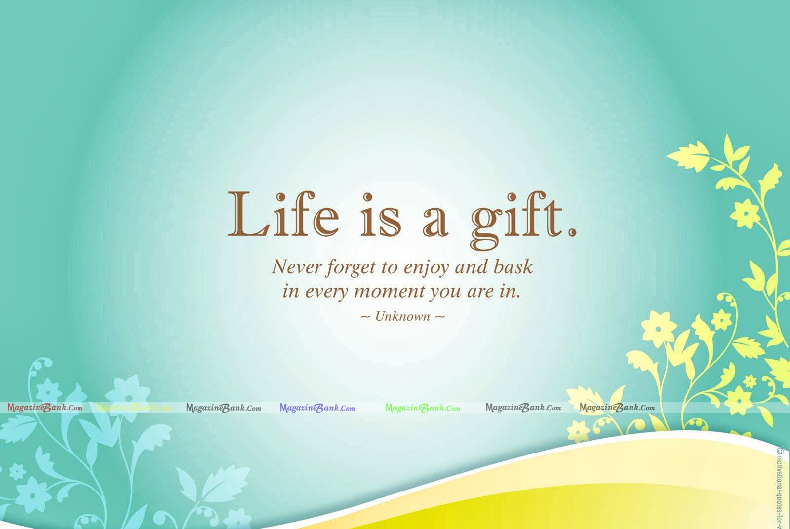Wonderful Life Quotes Entrancing Life Picture And Wonderful Quote  Inspiring Quotes And Words In Life