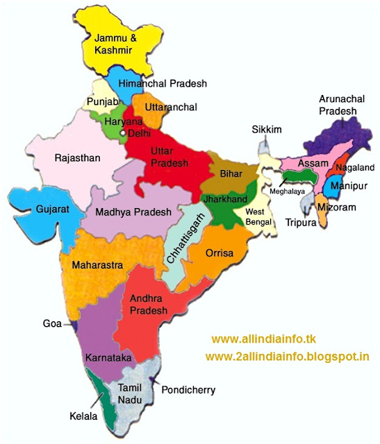 India Map With States And Capitals Capital city: new delhi Rose Black ...