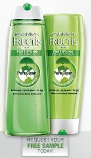 Amostra Gr�tis Shampoo e Condicionador Fructis