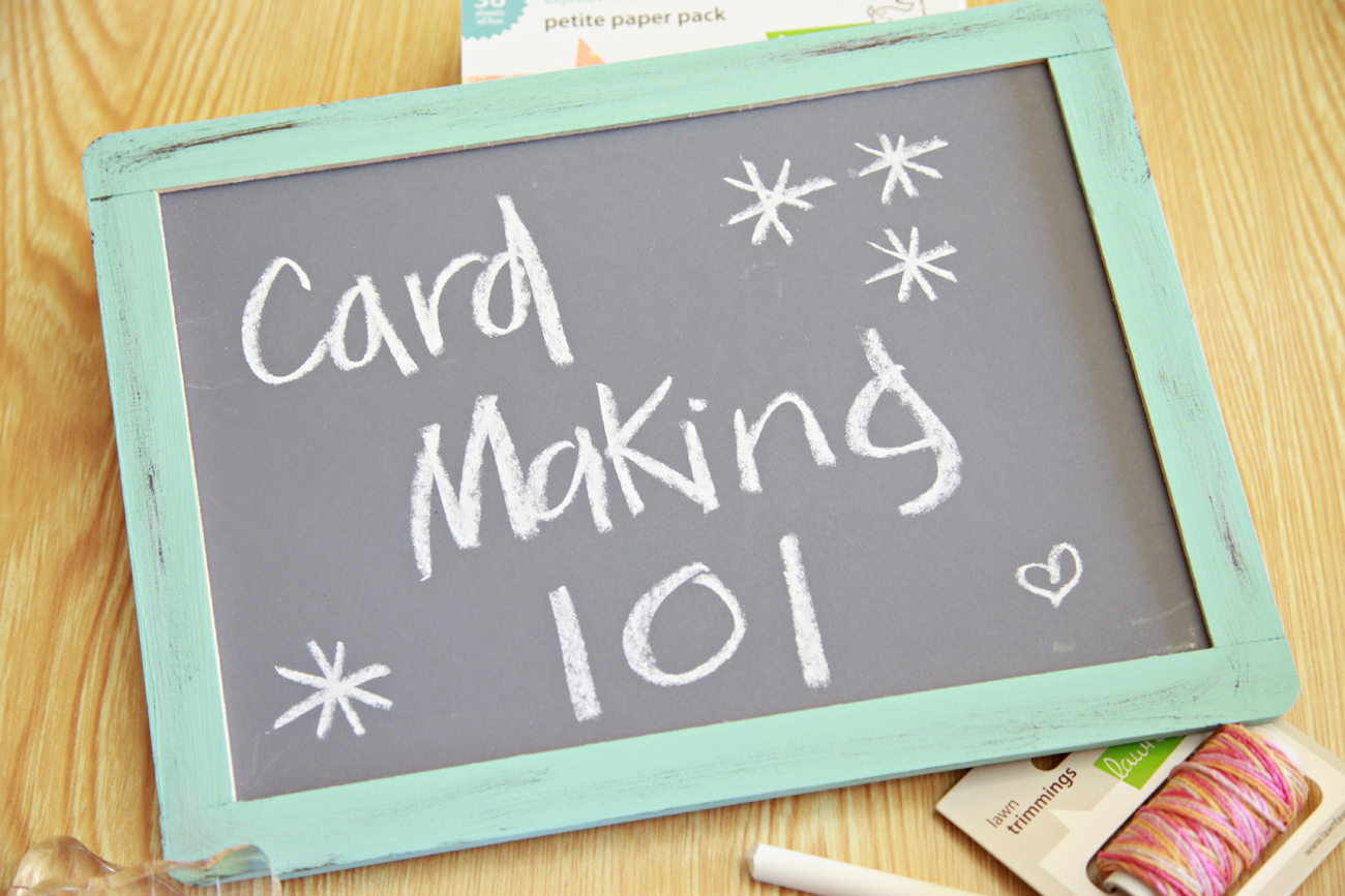 Custom Card Template make cards : Unify Handmade: Card Making 101--Chapter 1