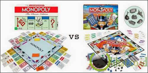 Monopoli vs Monopoli Electronic
