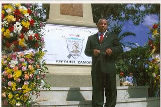 HONORES EN CARACAS AL GENERAL EZEQUIEL ZAMORA