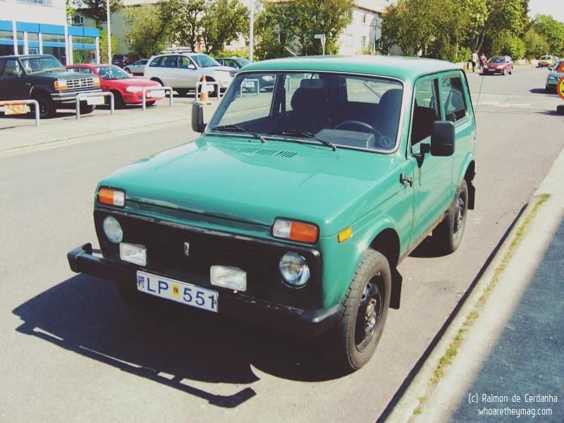Советский автомобиль в Исландии