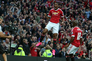 Manchester United vs Liverpool 3-1. Anthony Martial