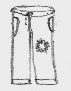 Trousers source drawing