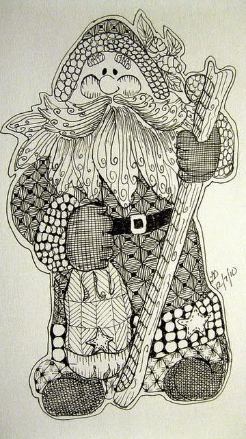 zentangle-christmas