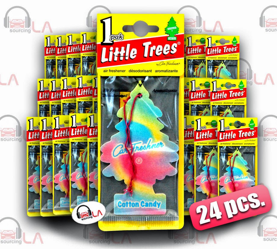 http://www.ebay.com/itm/Little-Trees-Hanging-Car-and-Home-Freshener-Cotton-Candy-Scent-Pack-of-24-/141505419570