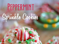 Peppermint Sprinkle Cookies