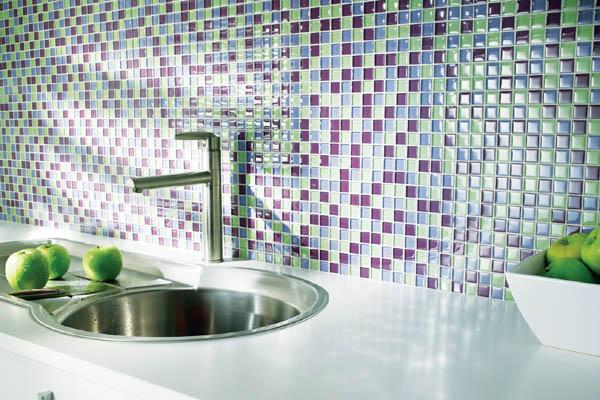 Blog da Arquiteta Pastilhas de vidro Dicas de uso! -> Banheiros Com Pastilhas Porto Design