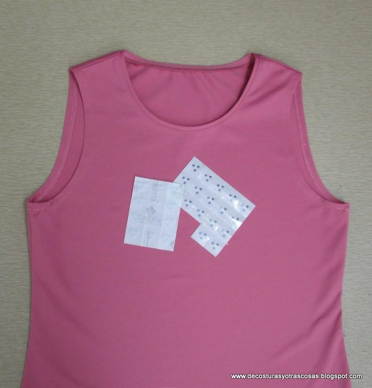 De costuras y otras cosas como customizar una camiseta for Cristales swarovski para decorar unas