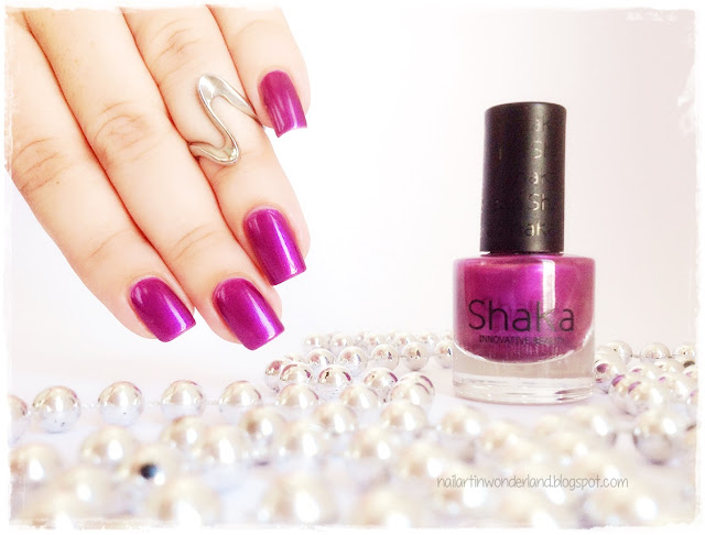 Shaka Innovative Beauty | Violet Pearl Nail Polish Swatch and Review