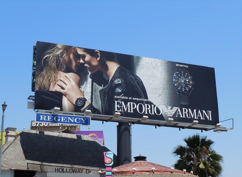 Emporio Armani Sportivo billboard