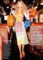 Taylor Swift walking through the train car