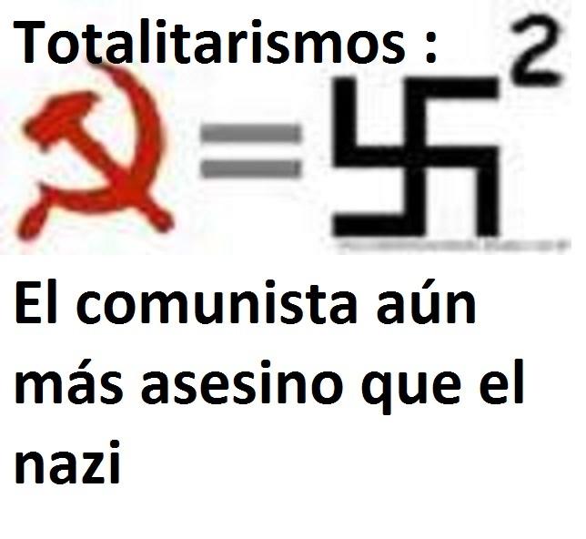 CONTRA EL TOTALITARISMO, COMUNISTA Y FASCISTA